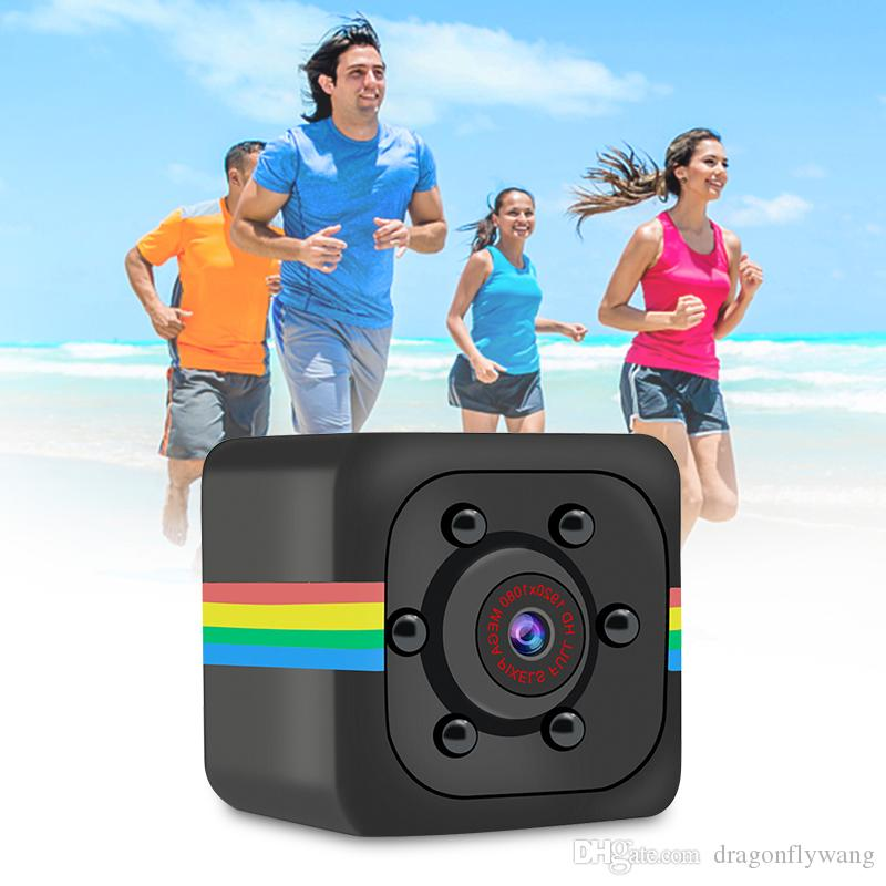 SQ11 كاميرا مصغرة HD 1080P الاستشعار للرؤية الليلية كاميرا الفيديو الحركة DVR مايكرو كاميرا الرياضة DV فيديو