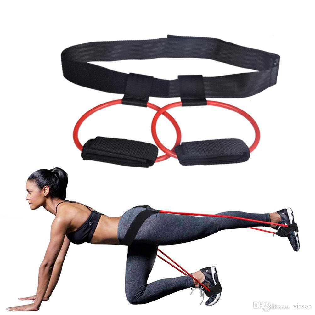 البولنجر باند الغنائم مجموعة المقاومة الجمال غنيمة للياقة البدنية الساقين تجريب والتدريب BuMuscles مع قابل للتعديل حزام الخصر