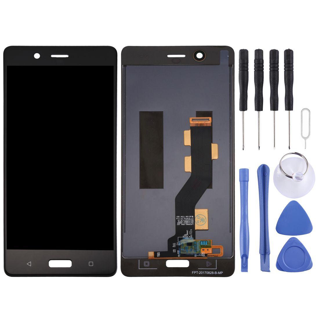 Tela LCD e digitador Assembléia completa para Nokia 8 / N8 TA-1012 TA-1004 TA-1052