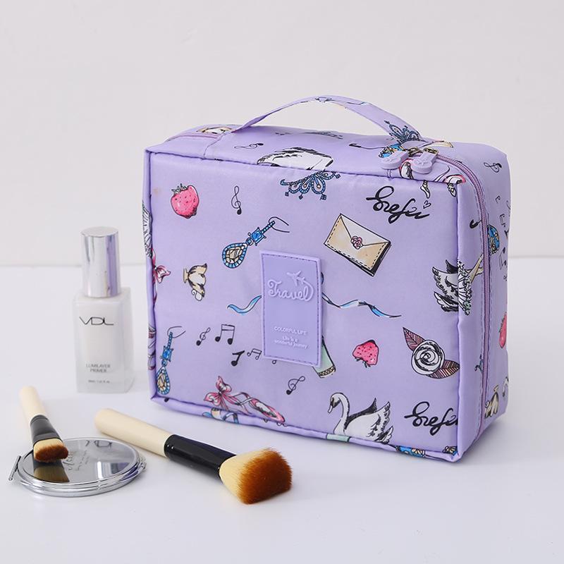 Sac cosmétique Voyage toilette Sac de voyage portable maquillage bagages à main Avion multi-fonction Place Maquillage
