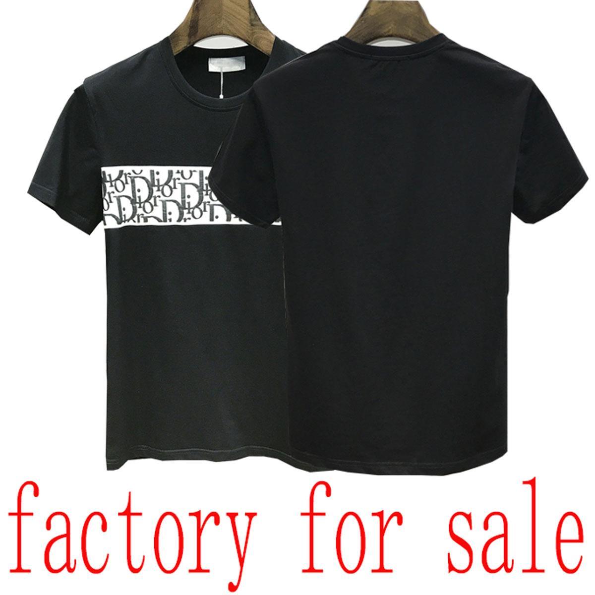 22ss luxe T-shirt Bermudes européen hip-hop hommes imprimé été T-shirt à manches courtes nouvelle chemise hommes en coton col rond italien