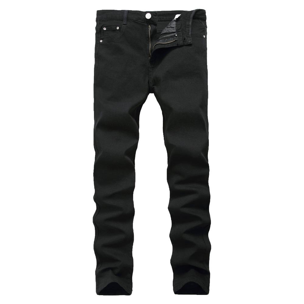 New Arrival Jeans For Men Cheap Jeans China Straigh Regular Fit Denim Pants Classic Elastic Black Colour Size 28 To 42