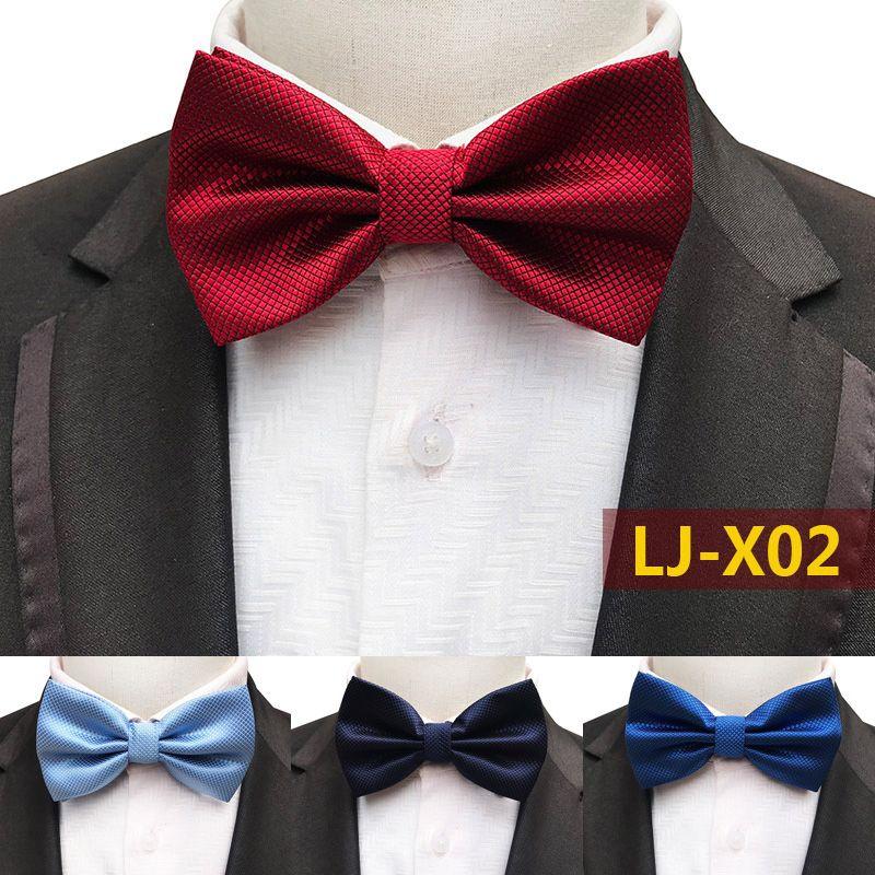Bow Tie Mens NEW Bowtie Adjustable Dickie PLAIN WHITE