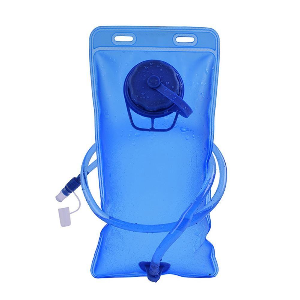 Бутылка 2L PEVA Складной воды Бег Отдых Туризм Вода Сумка Рюкзак Waterbag Soft колба