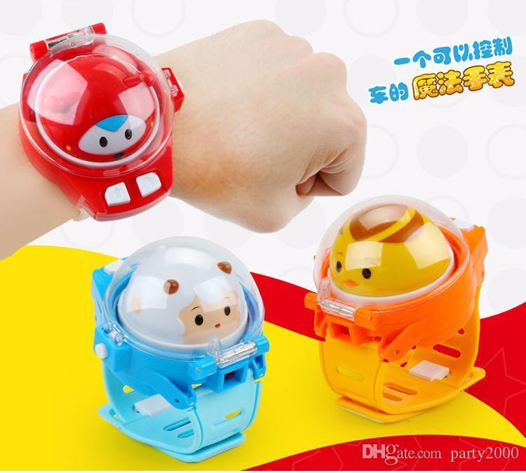Beobachten Sie ferngesteuertes Auto soziale Person Uhr Kinder Cartoon-Fernbedienung Auto Schwerkraftinduktion Auto toy21 beobachten