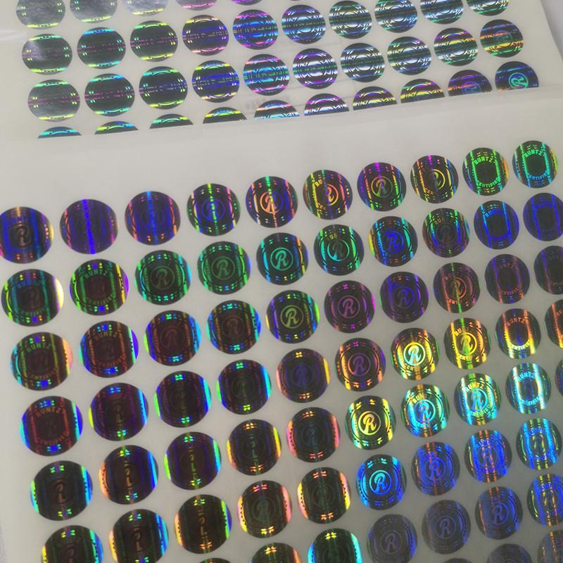 Nuovo R Runtz Adesivi 3d ologramma solo i cookie runtz California Accept personalizzabile 3D ologramma adesivo cookie 3d ologramma Stickers