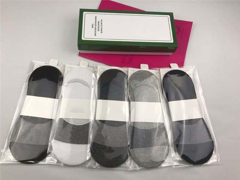 Designer Socks Homens Sock Womens Impresso Designer malha Socks Womens Fashion Trend roupas íntimas de alta qualidade Sock 5 pares com boxs