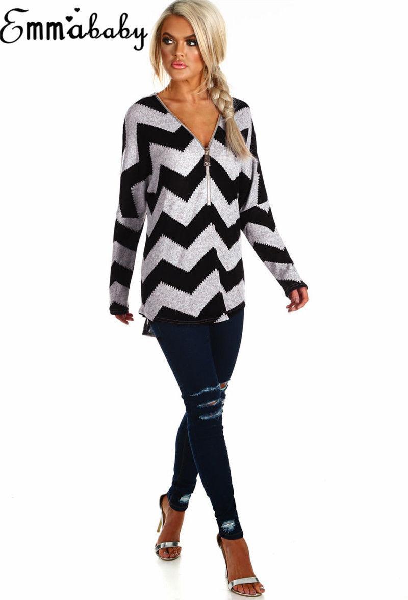 Hirigin Marca Harajuku suéter de invierno de las señoras blusa suelta Puente Tops manga larga para mujer suéter tapa del suéter Mujer 2019 Nuevo