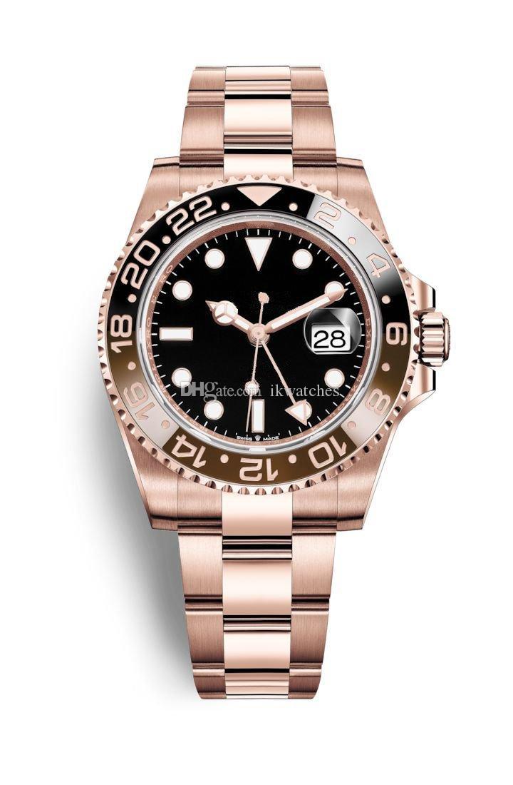 뜨거운 판매 패션 비즈니스 스타일은 사람 스테인레스 스틸 187 시계에 대한 고전적인 남자 시계 기계식 자동 시계 시계