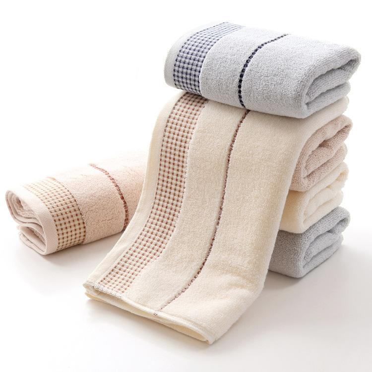 35x75cm Algodón Creativo Cuadrado pequeño Adulto Espesamiento Lavado Toalla de baño Toalla de baño Gimnasio Yoga Toallas Toalla de regalo