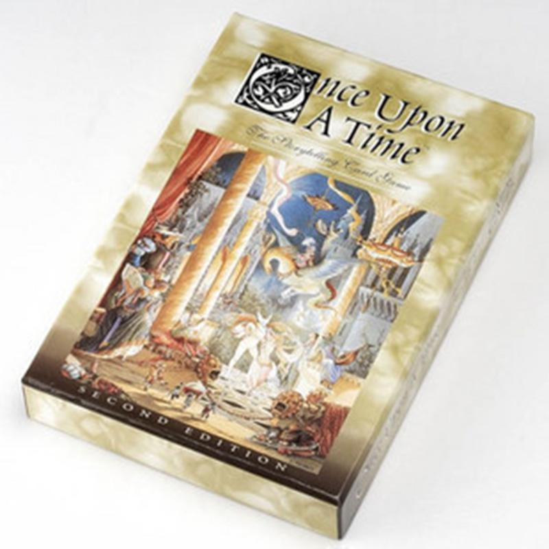 Once Upon A Time Board Game Funny Card Games High Quality English/Chinese Edition Game for Party/Family with English Instruction