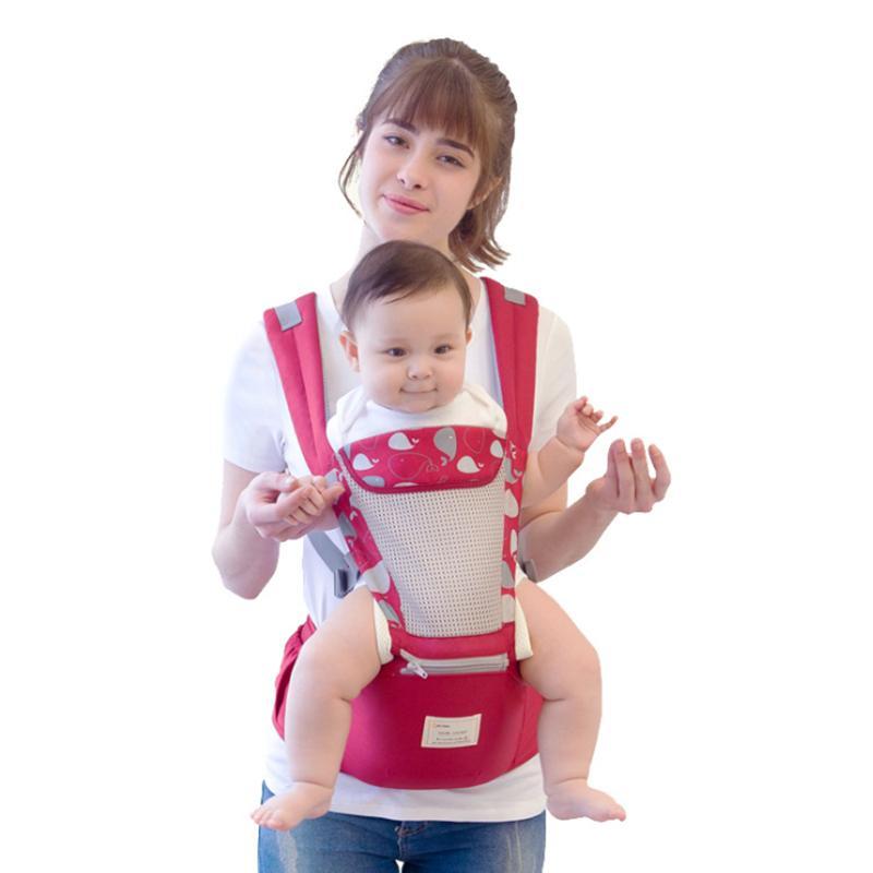 Bebé de la cintura de la cintura del bebé heces heces durante todo el año correa de hombro multifuncional