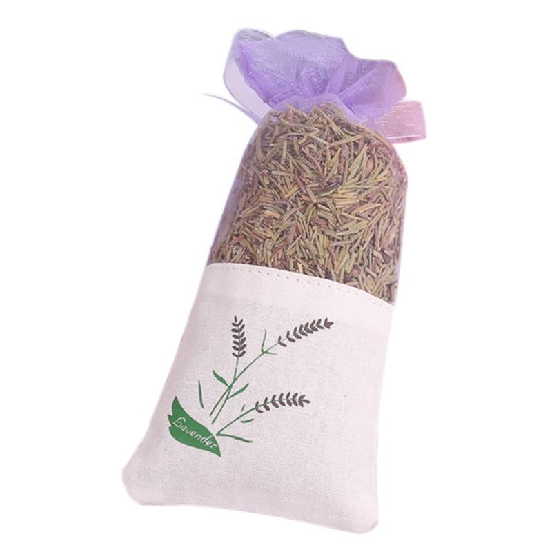1bag Doğal Gül Lavanta Jasmine Bud Kurutulmuş Çiçek Poşet Çanta Aromaterapi Aromatik Hava Yenile