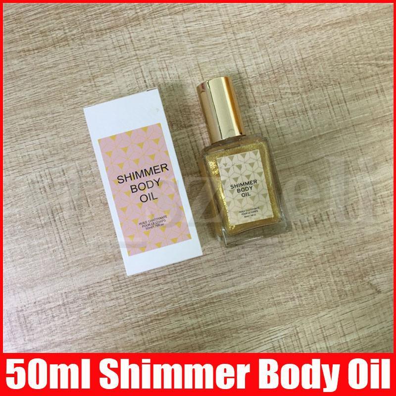 Face Body Makeup Shimmer Glitter Body Oil Liquid Highlighters Brighten Glow Highlighting 50ml high light