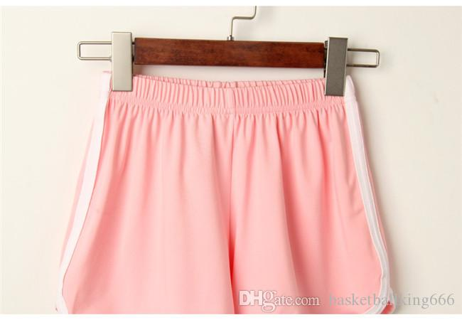 Women's Sports Shorts Pure Color Shorts For Summer Outdoor Recreational Sports Korean Fashion Sports Yoga Beach Pants