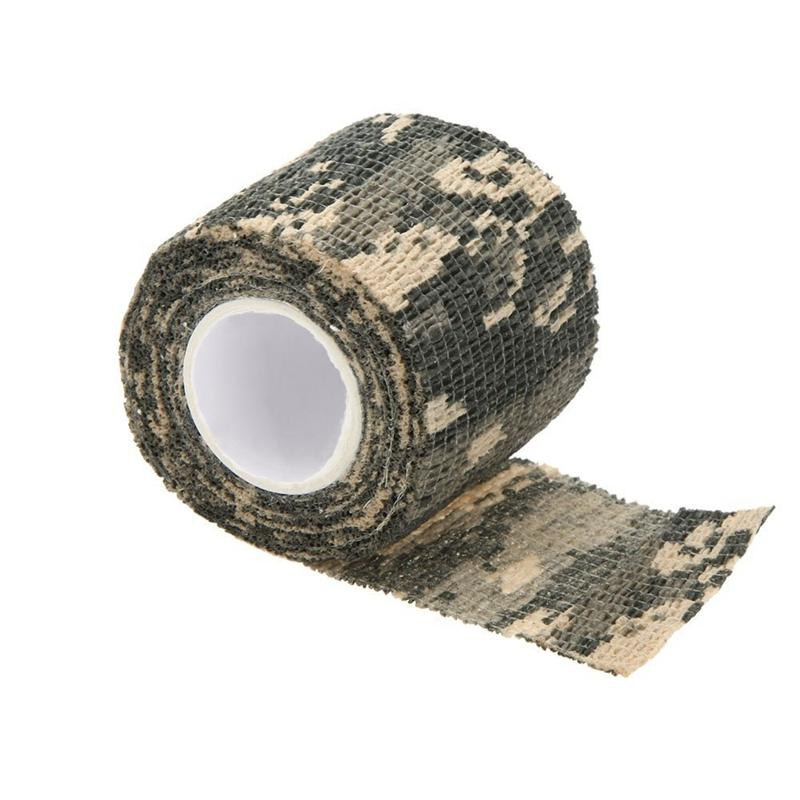 Outdoor Cycling Camo Wrap Gun Hunting Camouflage Stealth Tape Camo 3