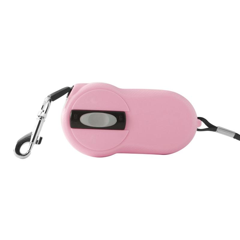 Automatically Reflective Walking Dogs Leading Rope Portable Retractable Dog Leash retractable dog leash pink