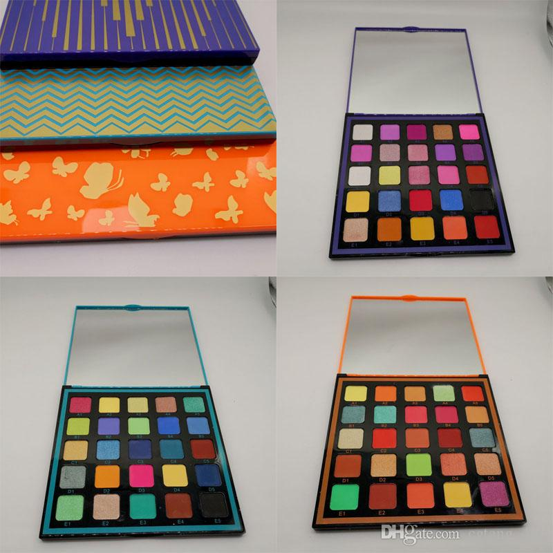 Pro Pigment Palette Vol.1 / 2/3-Augen-Schatten-Paletten Pro Kunst Palette von 25 Hochleistungs Schatten DHL frei