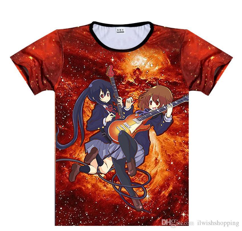 Mio Akiyama Cotton Short Sleeve Casual T-Shirt Japan Anime Cos K-on