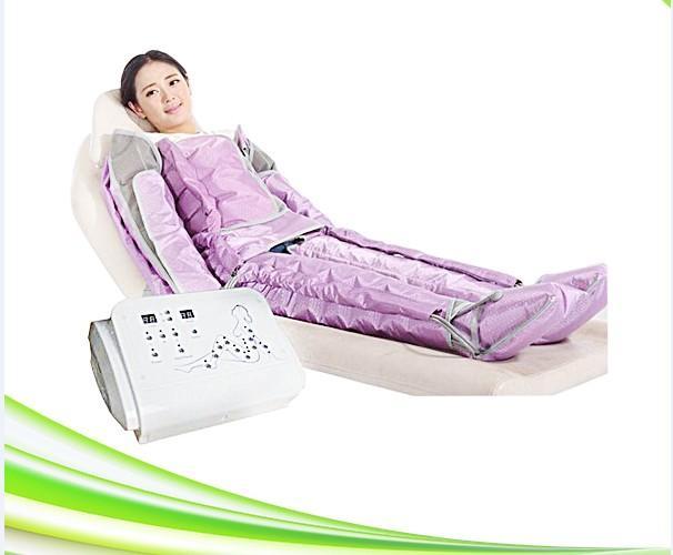 más reciente es la presión de aire spa masaje detox máquina presoterapia delgado masajeador presión de aire de drenaje linfático