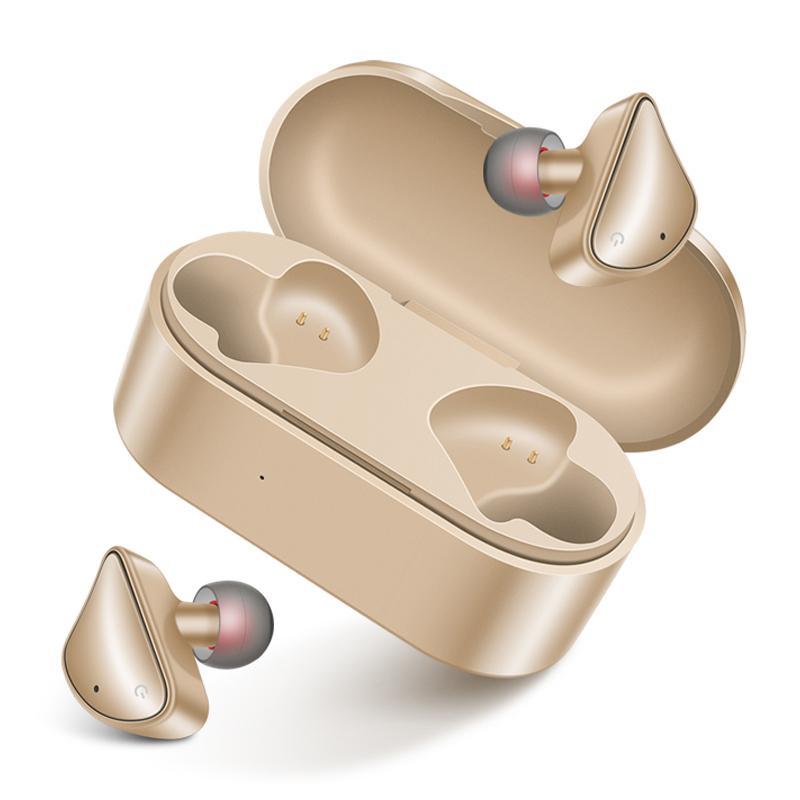 سماعات الأذن اللاسلكية التوائم D011 بلوتوث 5.0 سماعات بلوتوث سماعة سماعة ستيريو مع حالة صندوق الشاحن المغناطيسي لفون 8 XS