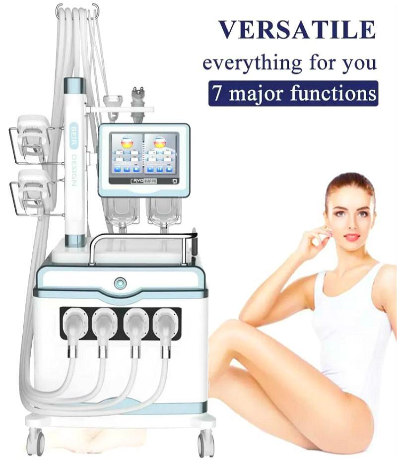 2 Dans 1 Shockwave Cryolipolysis La Machine à Cryolipolysis onde de choc Cryolipolysis Shockwave Machine minceur sur la vente