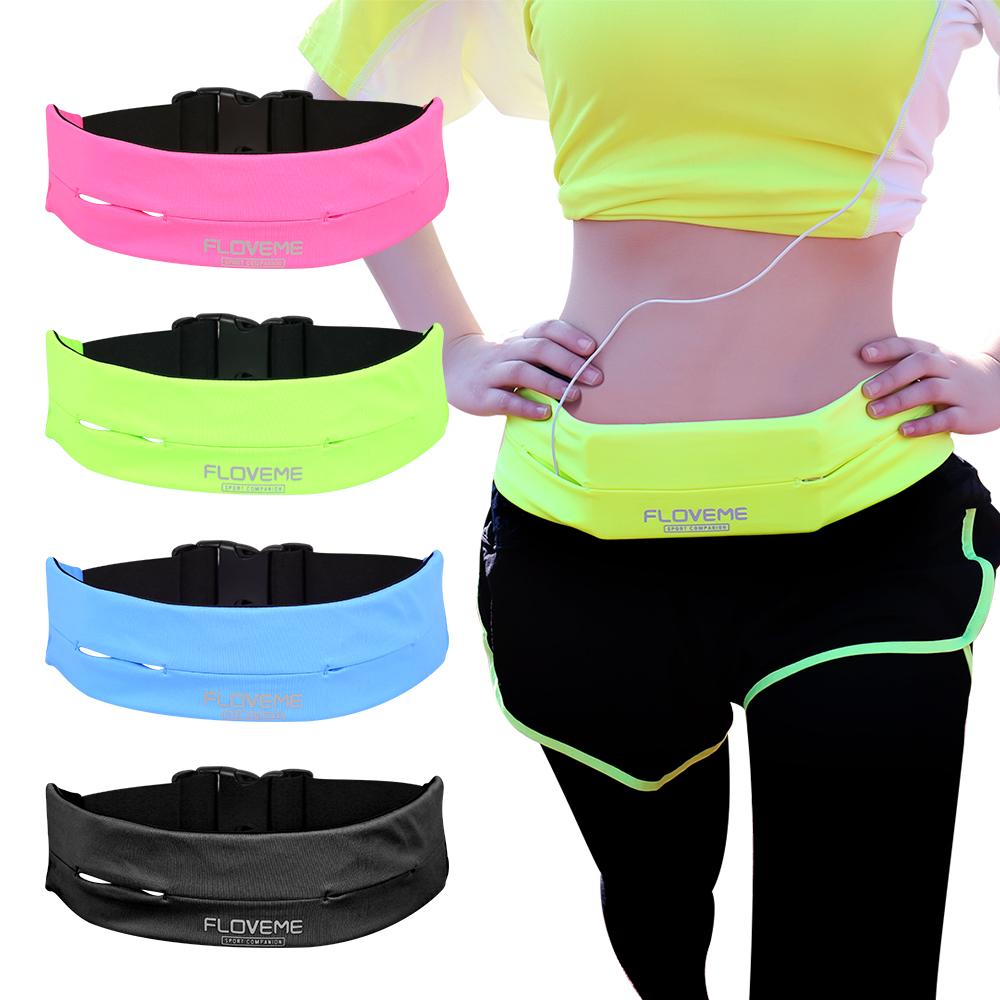 FLOVEME Universal Gym Waist Bags For iPhone Xs 8 7 7 Plus 6 6s Plus 5.5 Inch Running Sport Phone Cases Belt Bag Pouch for iPhone