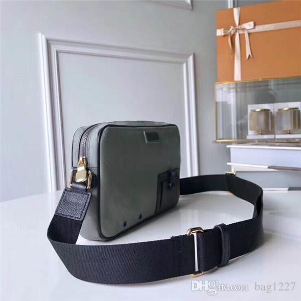 Freies Verschiffen Schulterklassische Luxus-Matching-Männer 6 Leder CM-Taschen cm Qualität Handtasche 43918 Größe 28 19 Leinwand Best Global DRDTU