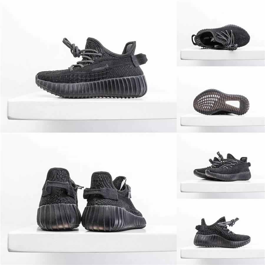 2020 Zapato Zapatos Kanye West Kanye West Niños bebé bebé niños V2 de las muchachas de los zapatos del niño V2 que se ejecutan las zapatillas de deporte Calzado deportivo Entrenadores Eur 26-35 # 714