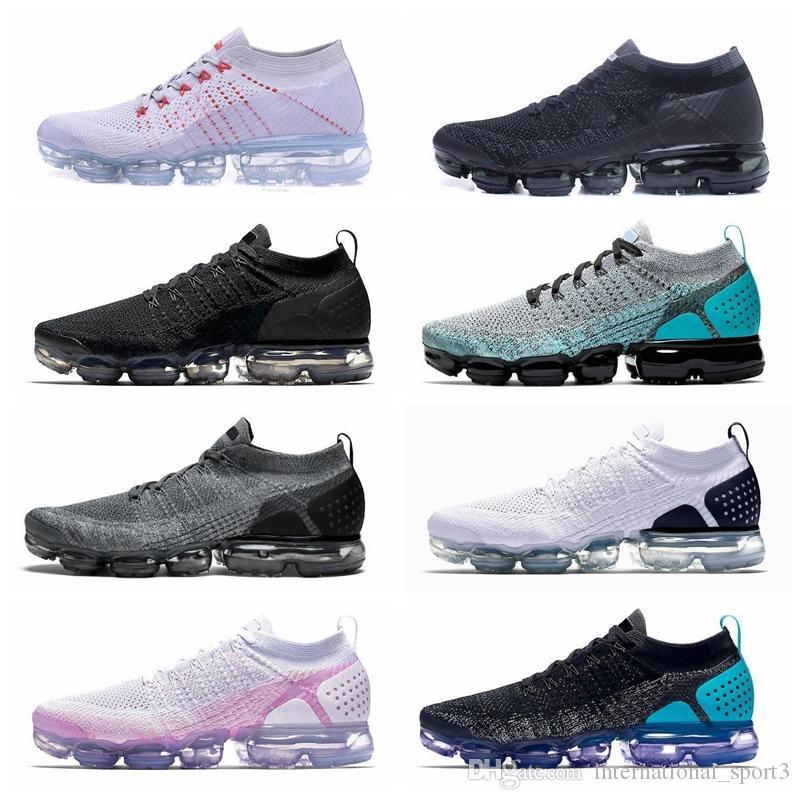 I03 2019 tn mais Mens Running Shoes Men Sneakers Mulheres Moda Athletic Branco Esporte Choque Corss Caminhadas Jogging sapatos de caminhada ao ar livre 36-45
