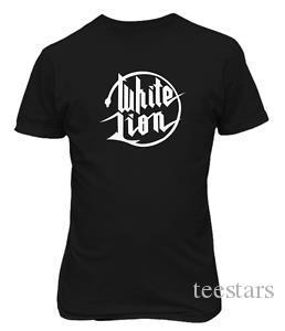 WHITE LION Rock Band Mike Tramp Musique T-shirt Musique 9