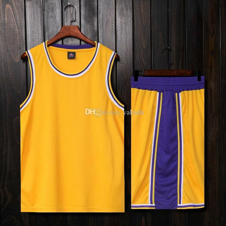 2019 men city blank basketball jerseys Sets With Shorts,Personality Customized streetwear training Uniforms kits Sports clothes tracksuits