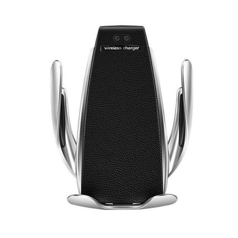 S5 Caricatore da auto 10W Wireless Charging Mount automatico di bloccaggio rapido di carica del supporto del telefono per IPhone X 11 per Samsung Galaxy S9 S10