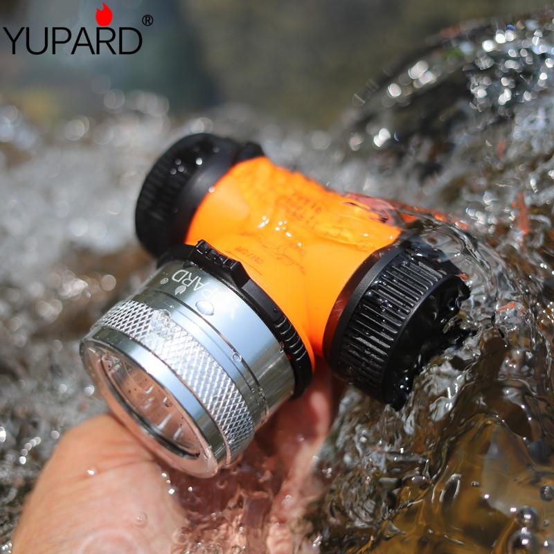 Diving double wick waterproof T6 LED L2 LED underwater headlamp fill light bike headlight lamp lantern 26650 UV