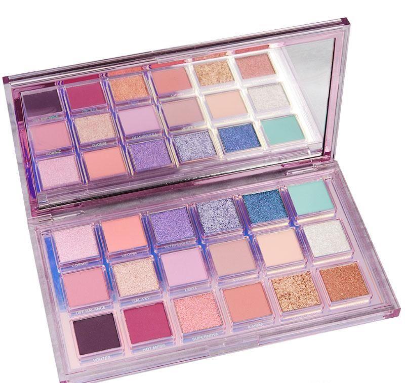 Makeup New Eye Mercury Retrograde 18 cores de sombras Rose Gold Eyeshadow beleza compo nus Shimmer Matte Sombras