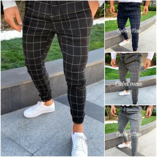 Pantalons longs d'été de nouvelle mode taille haute pour hommes Slim Pantalon Survêtement Fit séance d'entraînement Joggers