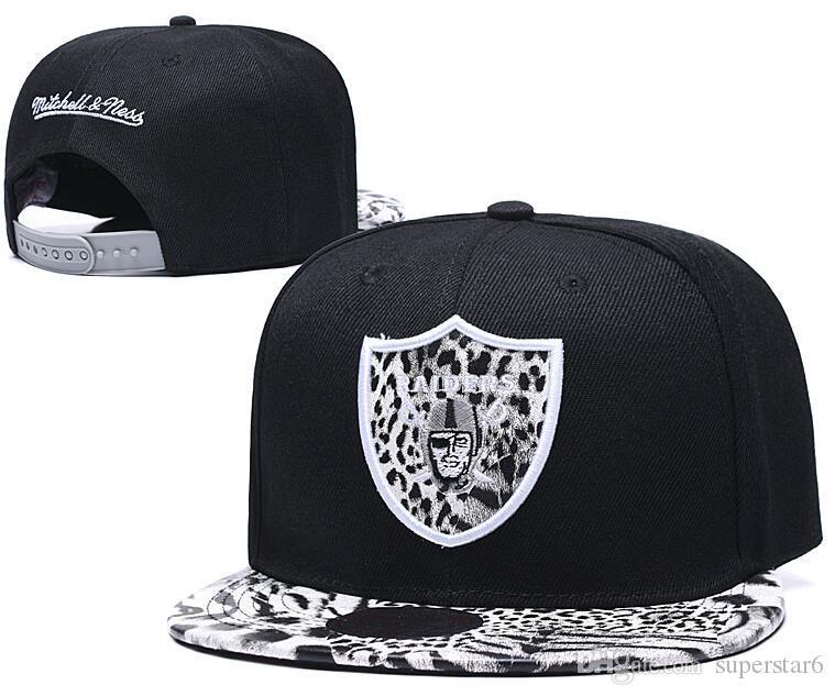 Vendita calda dei cappelli di calcio Oakland Cap America Sport Snapback Tutte le squadre di baseball di Hip Hop Snapbacks del cappello della protezione di sconto sportivi regolabili 00