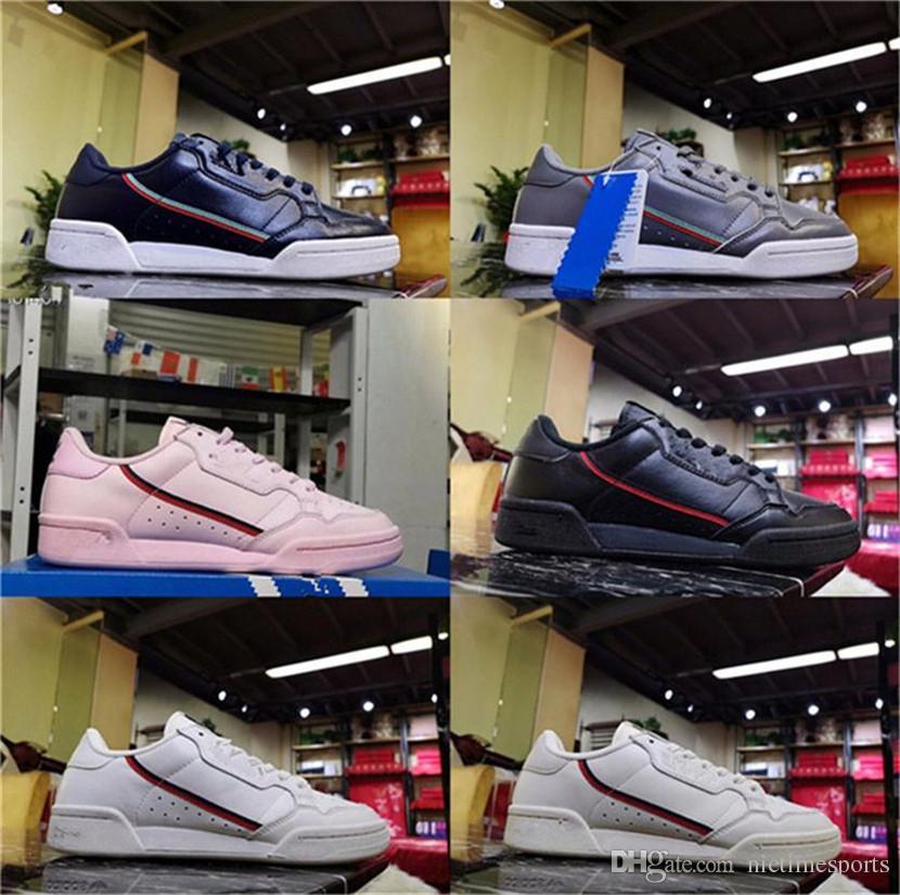 2019 Nuevo Continental 80 Zapatillas De Correr 19ss Aero Azul Núcleo Negro  OG Blanco Cojín Descuento Hombres Mujeres Big Kids Trainer Deportes ...