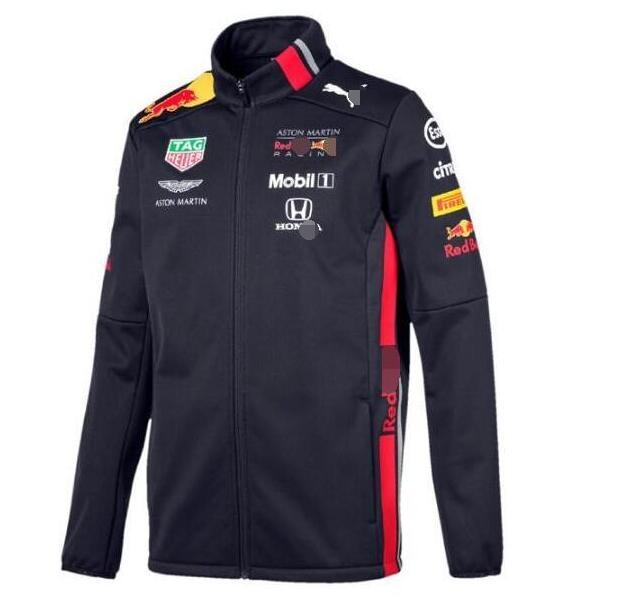 따뜻한 자켓 팬 버전 팀 정장 방풍 2020 새로운 포뮬러 원 경주 스웨터 재킷 타기 스웨터