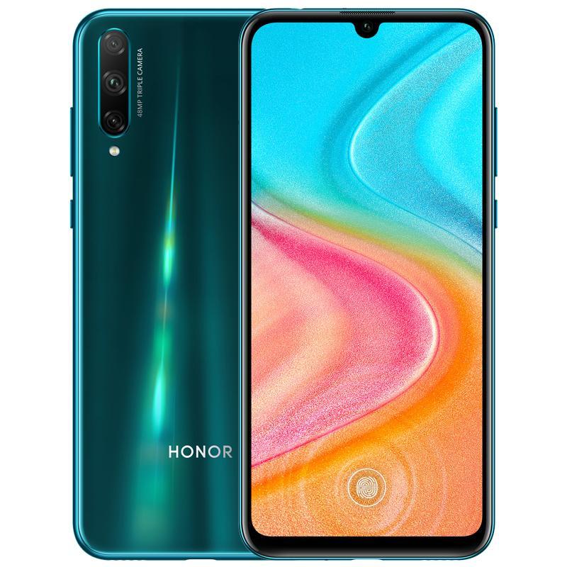 "Original Huawei Honor 20 Lite 4G LTE Cell Phone 4GB RAM 64GB ROM Kirin 710F Octa Core Android 6.3"" AMOLED Full Screen 48.0MP OTG OTA Fingerprint ID Face Smart Mobile Phone"
