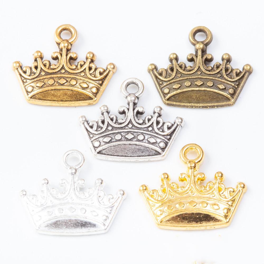5 per pack Tibetan Silver Crown//Tiara charms