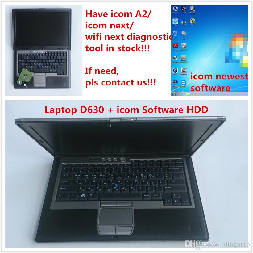 used laptop d630 with icom a2 next diagnosis soft-ware installed hdd 2019.07 ISTA D:4.17 P:3.66.1 newest Version ready work