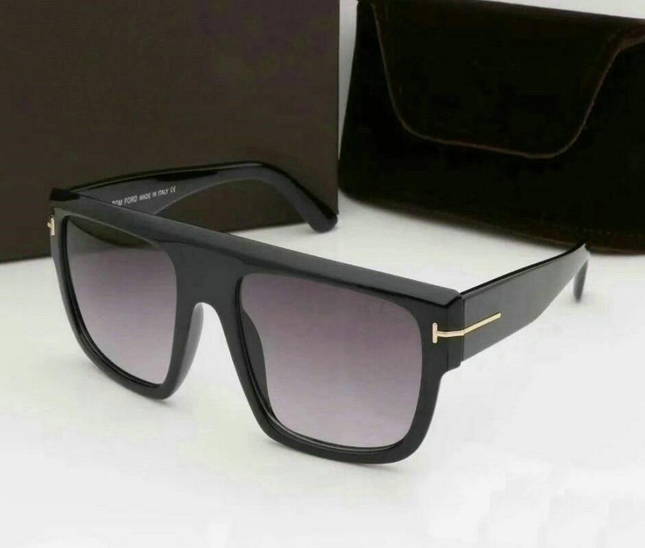 0699 FT 2020 James Bond Sunglasses Men Brand Designer Sun Glasses Women Super Star Celebrity Driving Sunglasses Tom for Men Eyeglasses