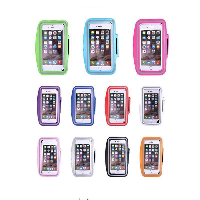 Water Resistant Cell Phone Armband case Sports Running Gym Case Waterproof Armband Holder Pounch For iPhone 6 7 8 case Bag Samsung