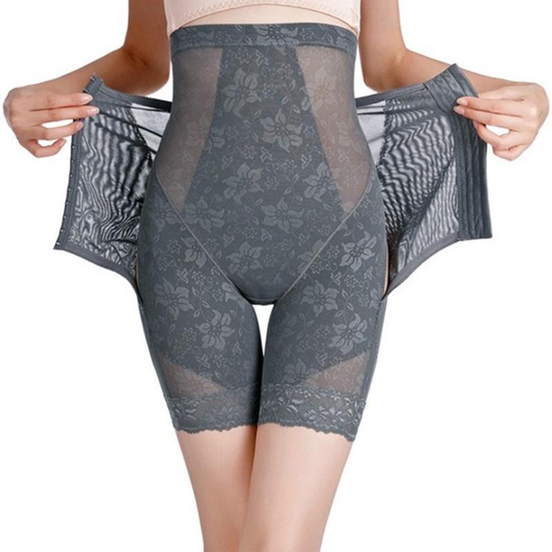 المرأة عالية الخصر المشكل الجسم الملابس الداخلية سلس BuTummy البطن تحكم الخصر سروال التخسيس Shapewear حزام رقيقة البطن الوركين