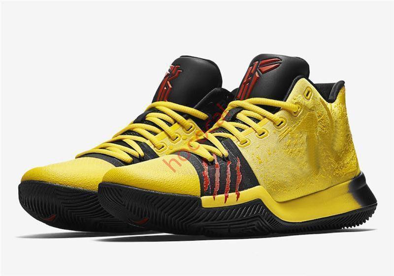 hococal Kyrie 3. 4. 5. Bruce Lee Ayakkabı Klasik Basketbol Ayakkabı Mamba Zihniyet İmza Ayakkabı Doğa Sporları Sneakers 11 Renkler