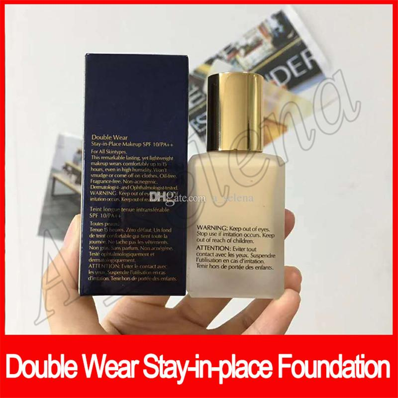 Cheap Face makeup Double Wear stay-in-place makeup Foundation 30ml Nude Cushion Stick Radiant Makeup Foundation dhl free