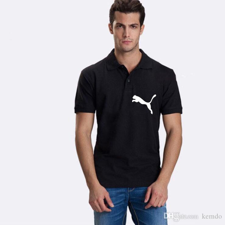 Mens Fashion Brand Sommer Polos Lässige Atmungsaktive Leopardenmuster Und Buchstaben Druck Poloshirt Lose Einfarbig Tees Größe S-3XL