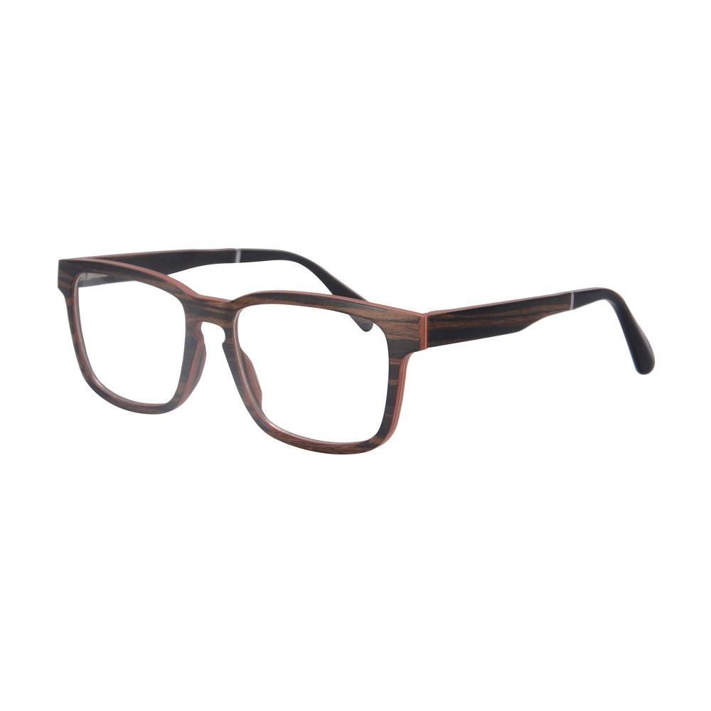 Wholesale- Naturaleza Madera Marco óptico Gafas de prescripción Myopia Eyewear Gafas Marco de alta calidad SH73008