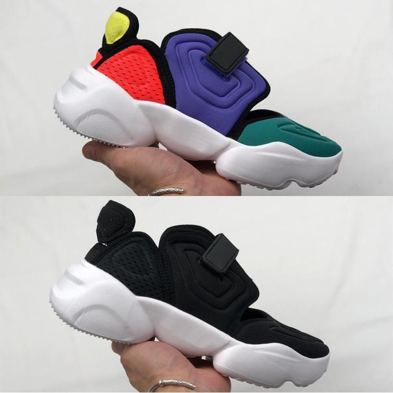 Aqua Rift Çok Orjinal Mashup Zirve Beyaz Kadın Erkek Beyaz Siyah Ayakkabı rahat ayakkabı